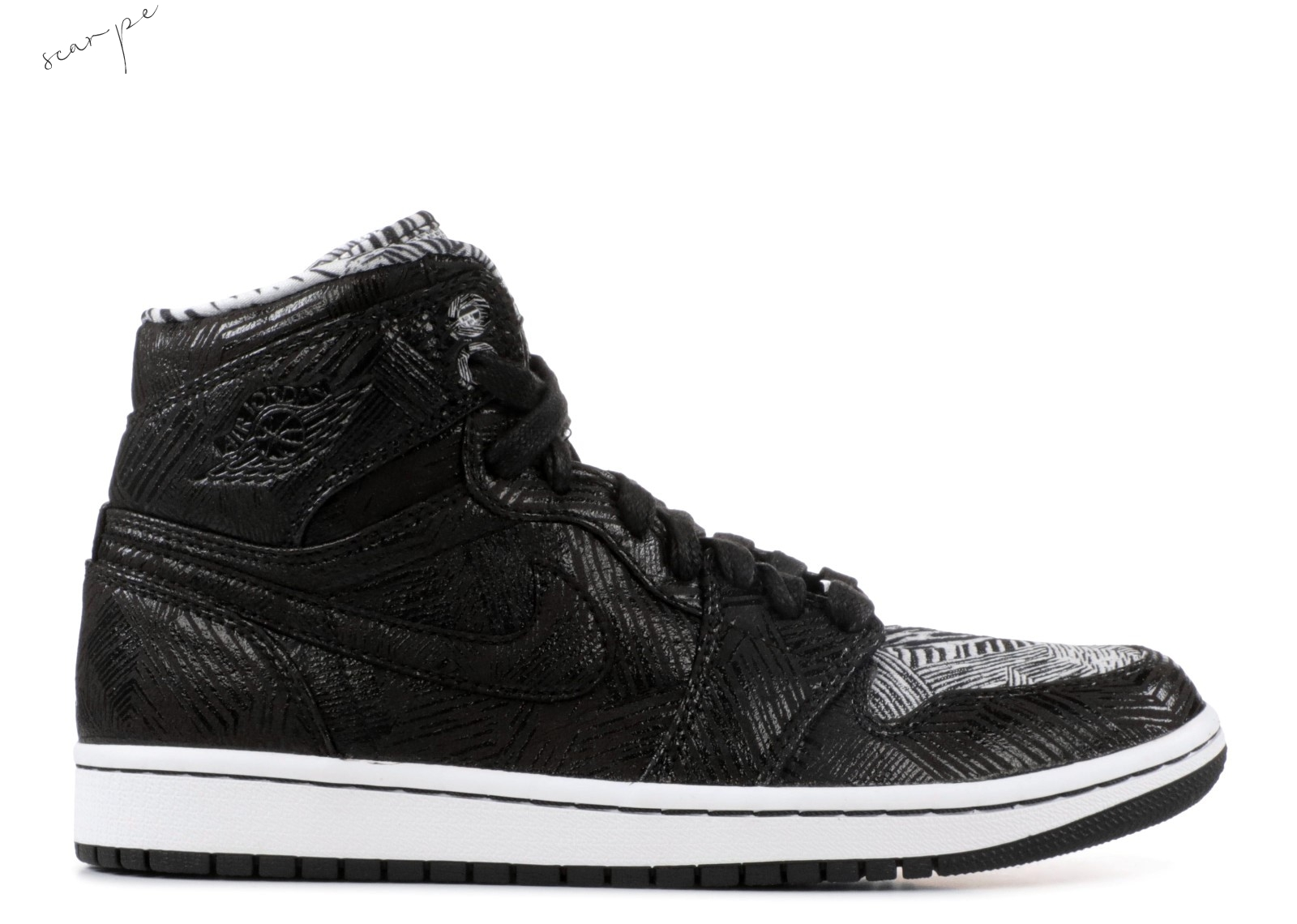 Vendite Air Jordan 1 Retro High Bhm Nero (579591-010) Scarpe Online