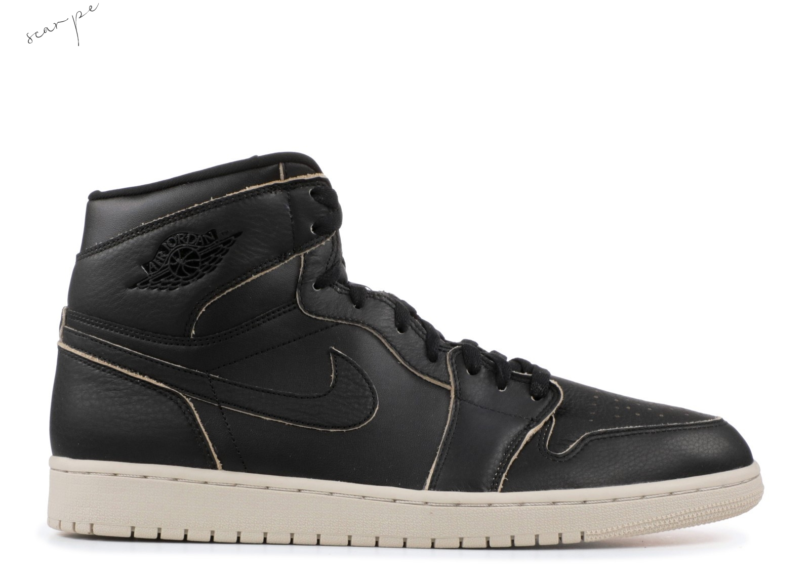 Vendite Air Jordan 1 Retro High Prem Nero (aa3993-021) Scarpe Online