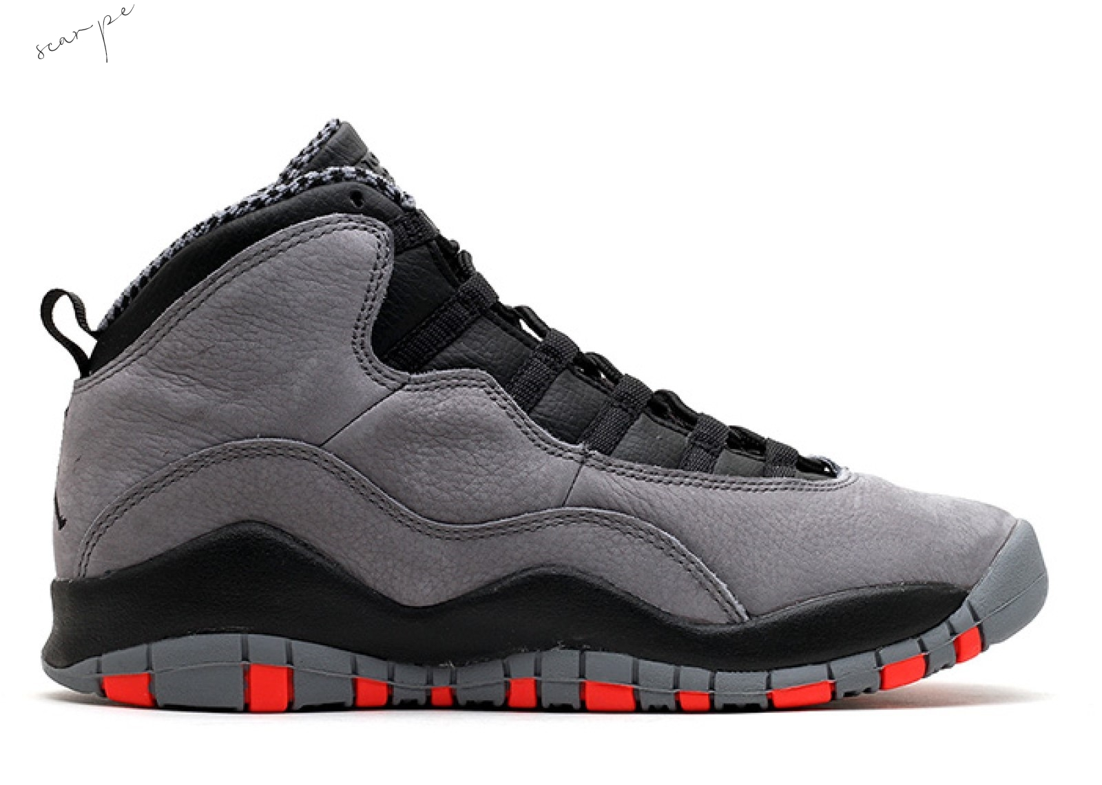 "Vendite Air Jordan 10 Retro Gs ""Cool Gris"" Gris (310806-023) Scarpe Online"