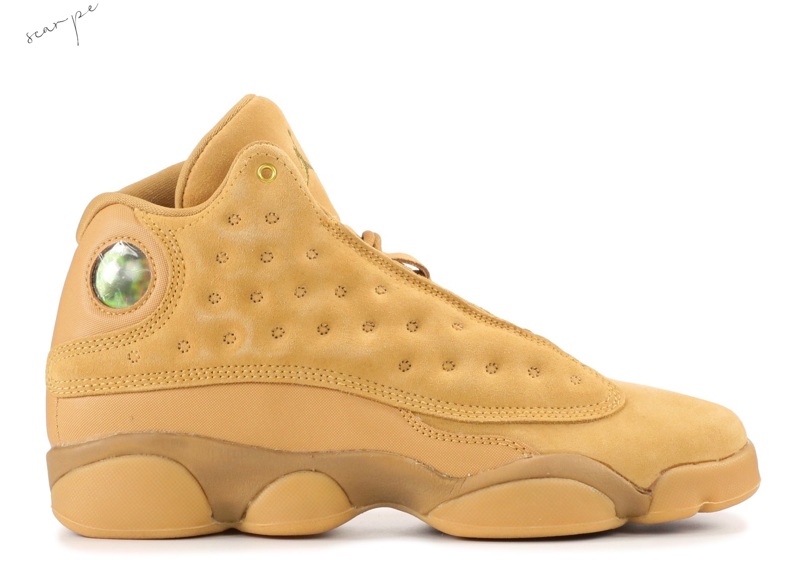 "Vendite Air Jordan 13 Retro Bg ""Wheat"" Marrone (414574-705) Scarpe Online"