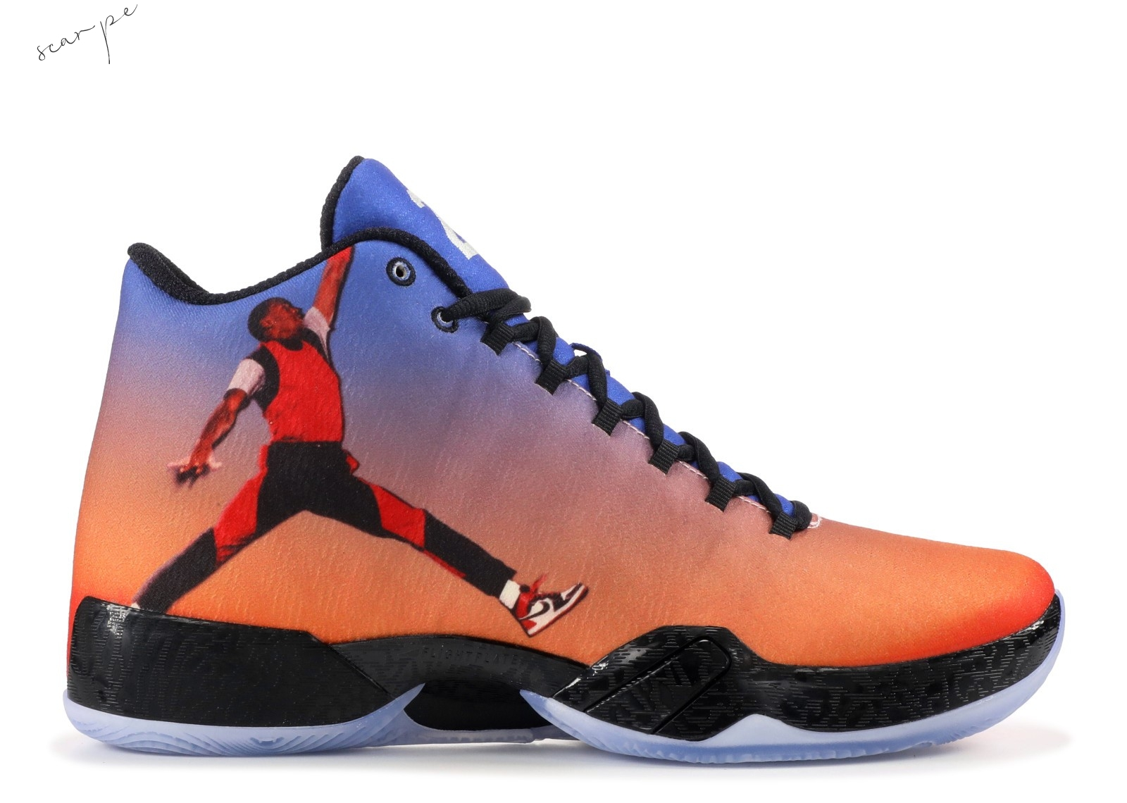 "Vendite Air Jordan 29 ""Photo Reel"" Arancia (695515-806) Scarpe Online"