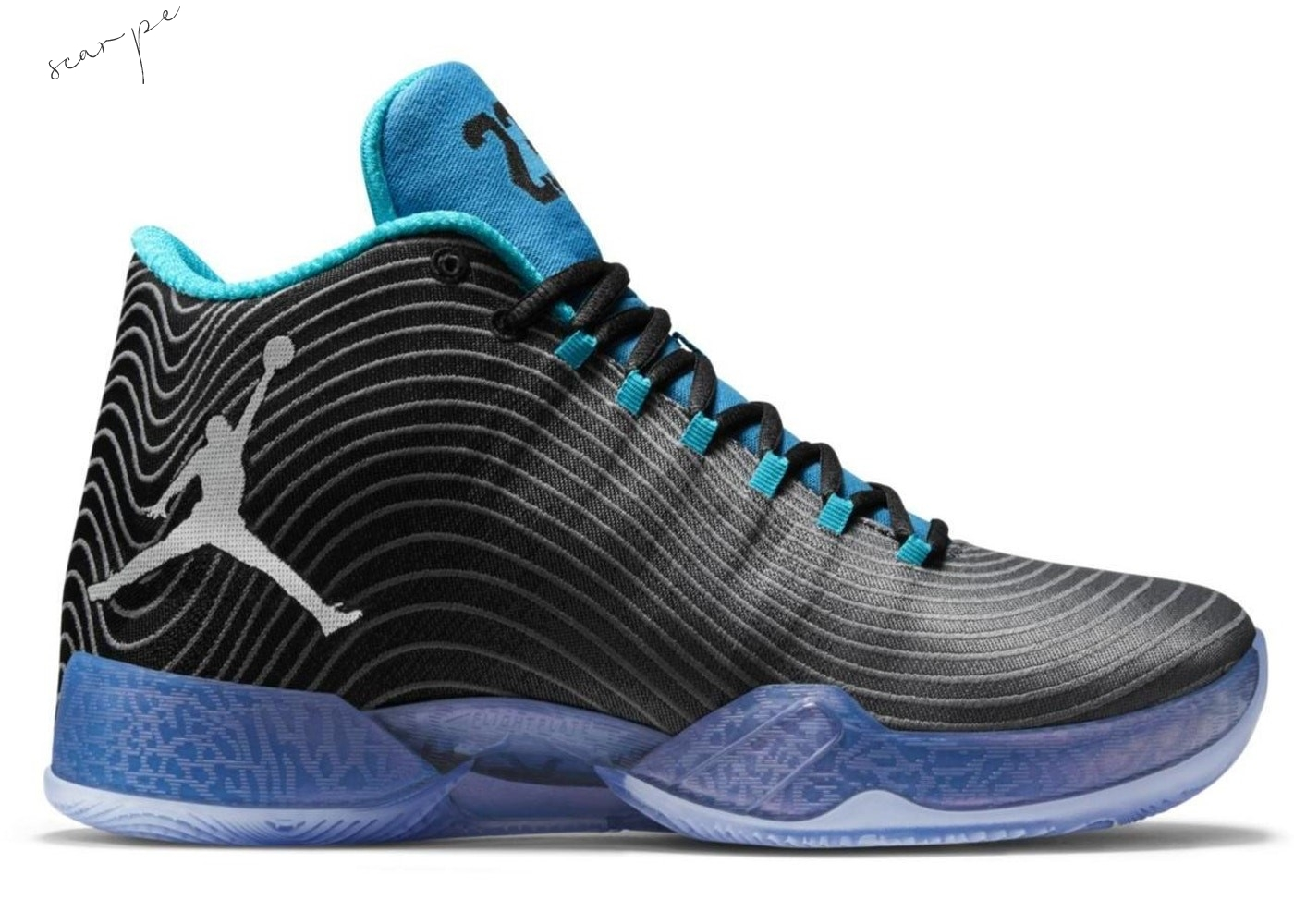 "Vendite Air Jordan 29 ""Playoff Pack Away"" Nero Blu (749143-014) Scarpe Online"