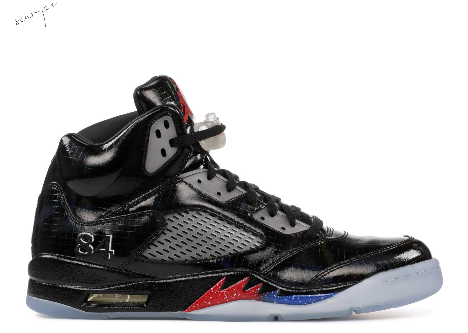 "Vendite Air Jordan 5 Retro ""Transformers Sample"" Nero (h015mnjdls-204-752667) Scarpe Online"