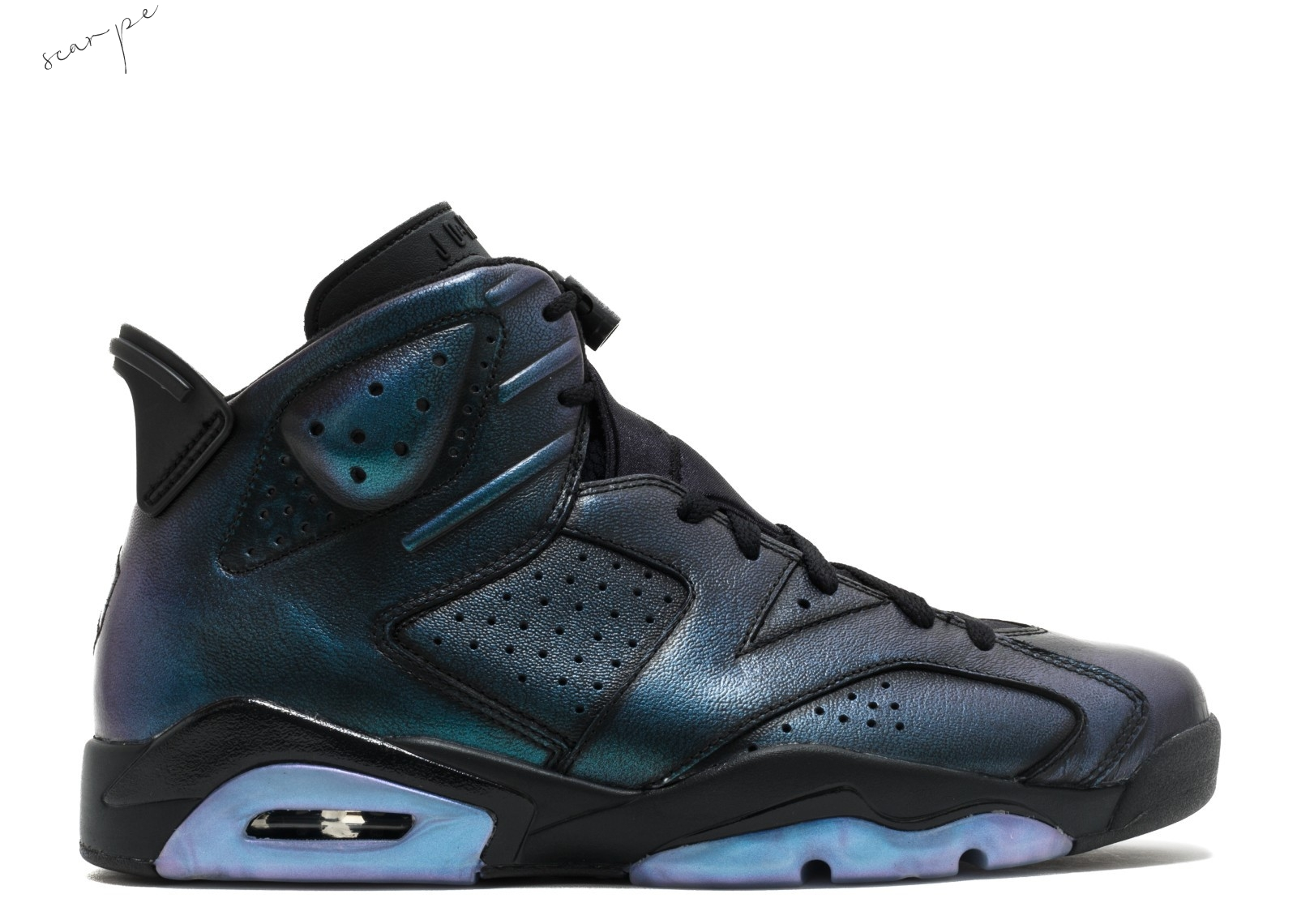 "Vendite Air Jordan 6 Retro As ""All Star"" Nero (907961-015) Scarpe Online"