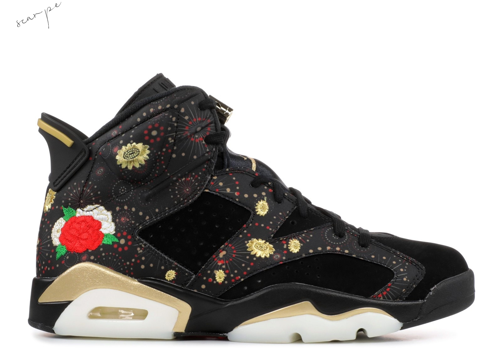 "Vendite Air Jordan 6 Retro Cny ""Chinese New Year"" Nero (aa2492-021) Scarpe Online"