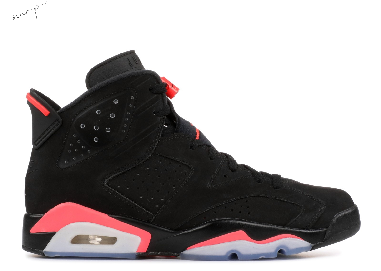"Vendite Air Jordan 6 Retro ""Nike Air Sample"" Nero (602587-520) Scarpe Online"
