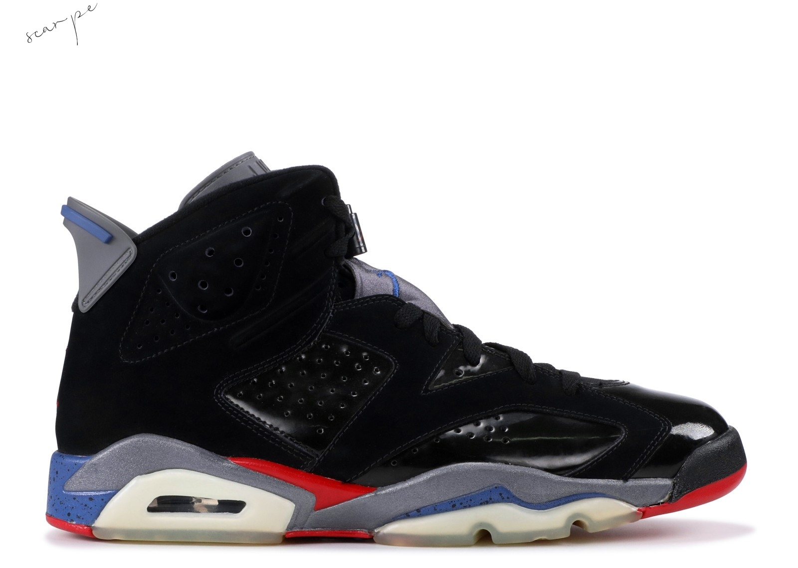 "Vendite Air Jordan 6 Retro ""Piston"" Nero (384664-001) Scarpe Online"