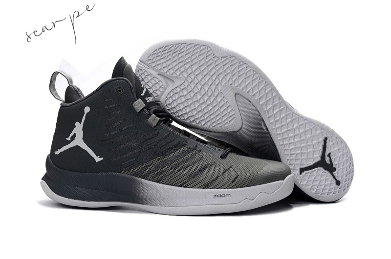 "Vendite Air Jordan Super.Fly 5 ""Blake Griffin"" Gris Nero Scarpe Online"