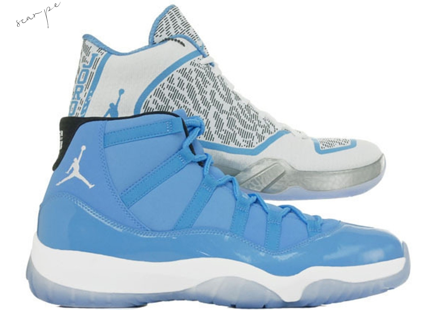 Vendite Air Jordan Ultimate Gift Of Flight Pack (11/29) Bianca Blu (717602-900) Scarpe Online