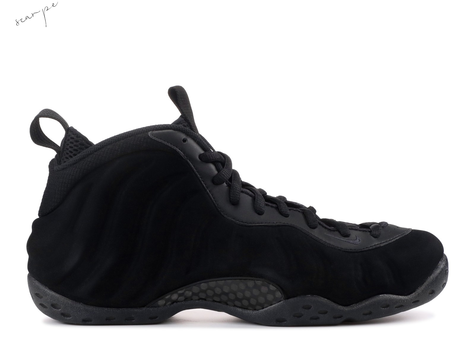 "Vendite Nike Air Foamposite One Prm ""Triple Nero"" Nero (575420-006) Scarpe Online"