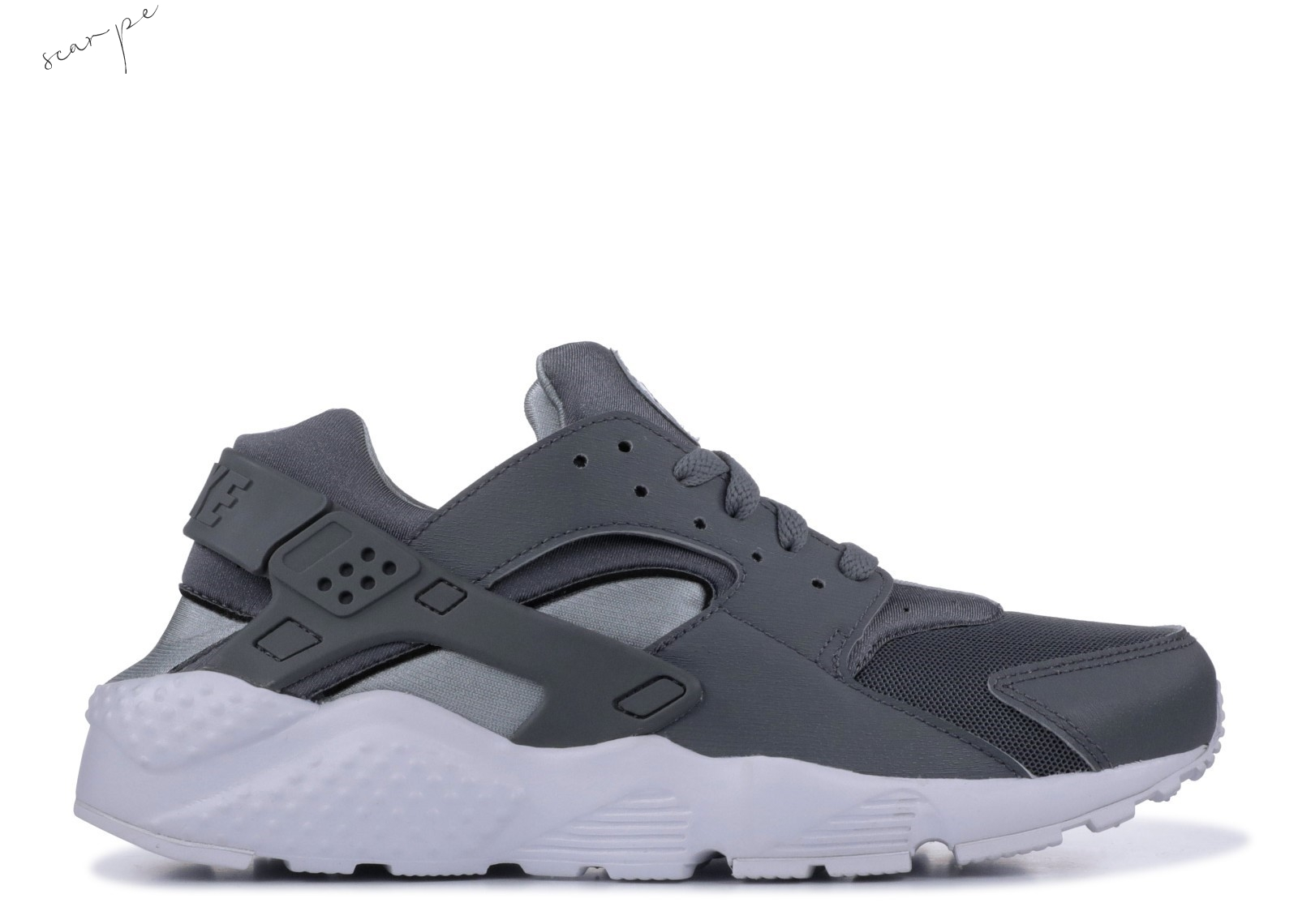 Vendite Nike Air Huarache Run Gs Gris (654275-012) Scarpe Online