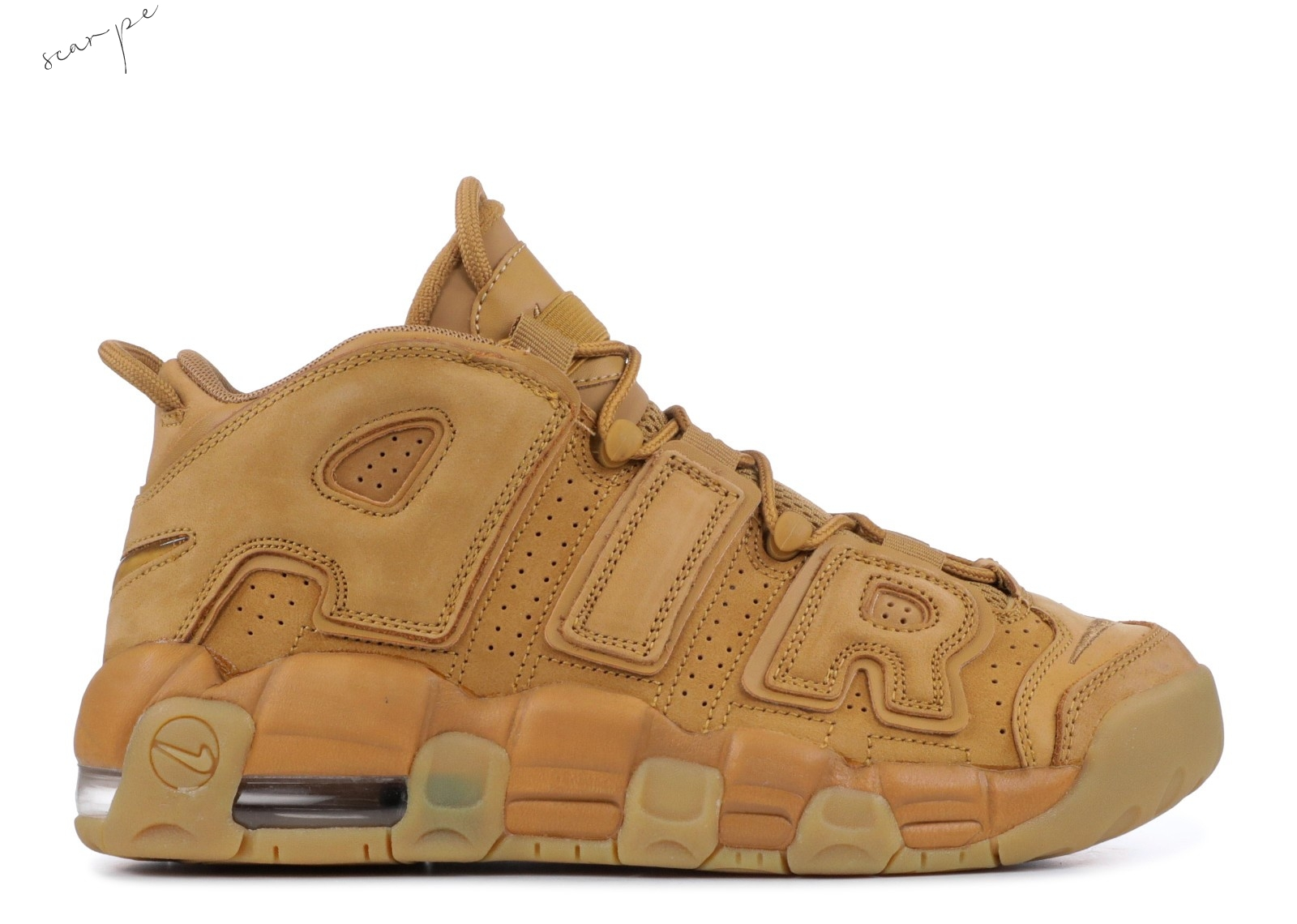 Vendite Nike Air More Uptempo Se (Gs) Marrone (922845-200) Scarpe Online