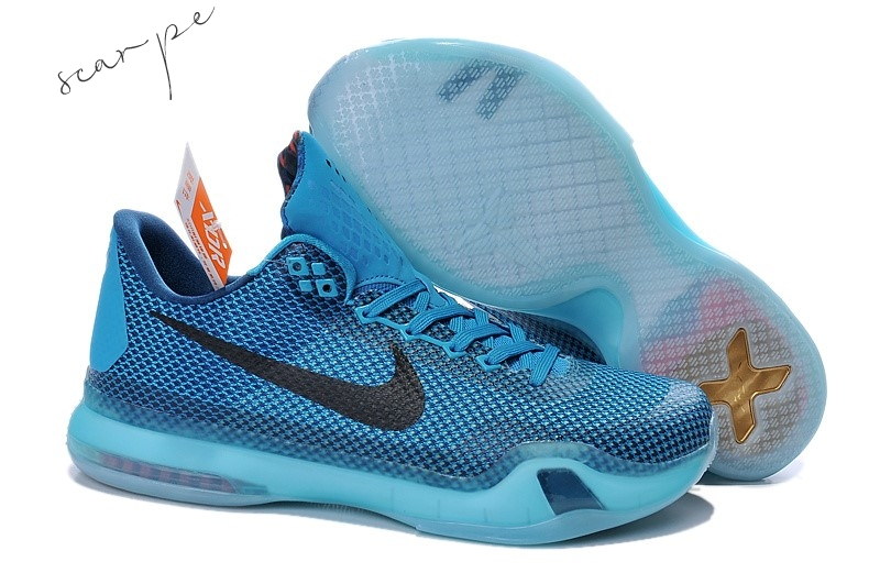 "Vendite Nike Kobe X 10 ""5Am Flight"" Blu Scarpe Online"