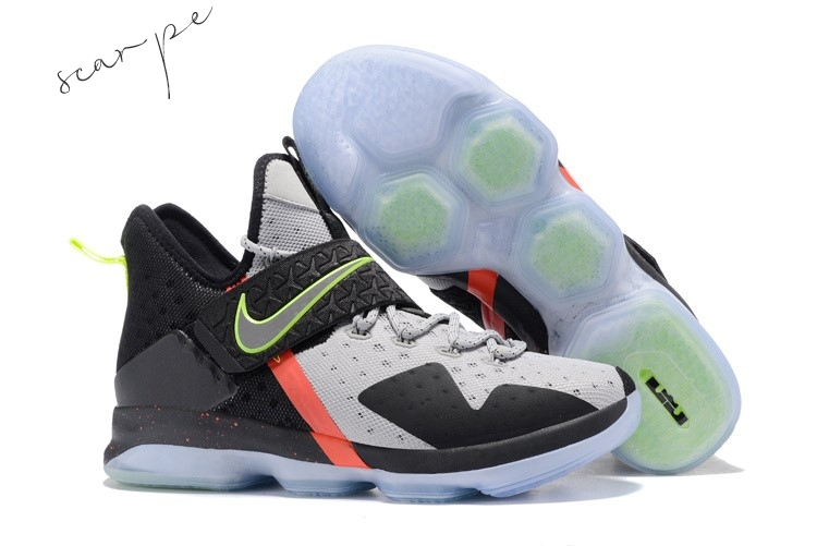 "Vendite Nike Lebron XIV 14 ""Out Of Nowhere"" Nero Gris Scarpe Online"