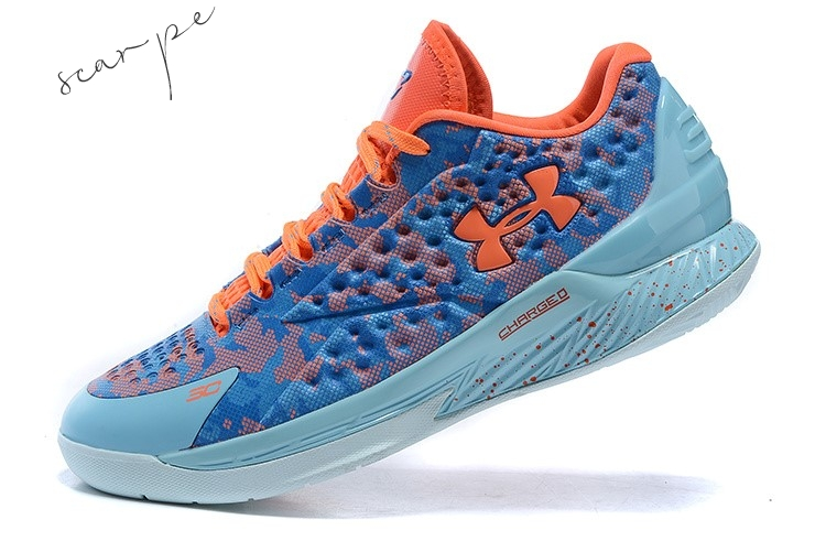 "Vendite Under Armour Curry 1 Low ""Elite 24"" Blu Scarpe Online"