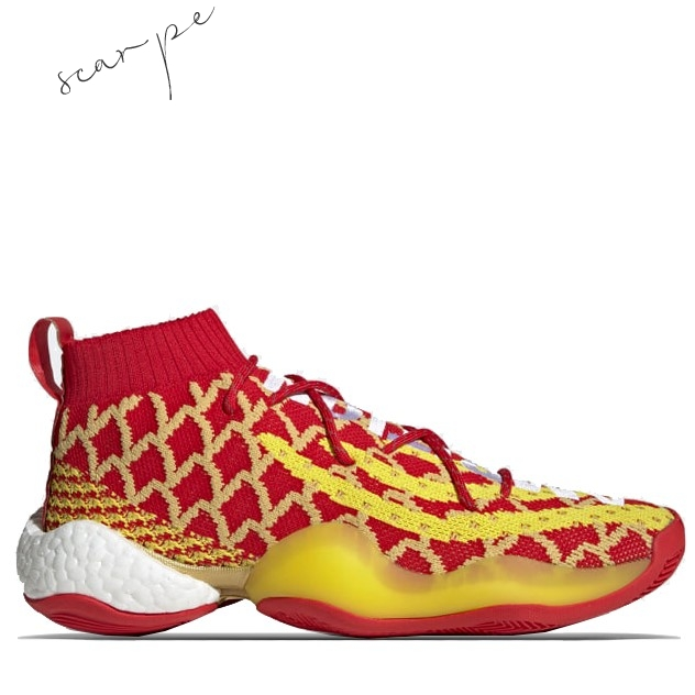 "Vendite Adidas Crazy Byw Pharrell ""Chinese New Year"" Rosso Giallo (EE8688) Scarpe Online"