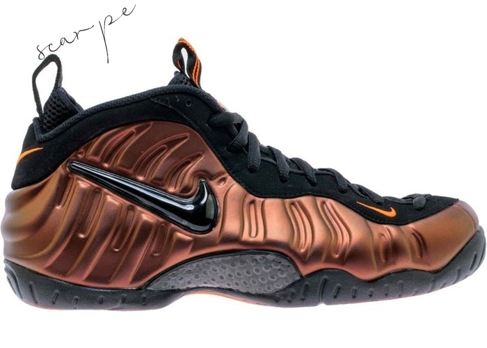 "Vendite Nike Air Foamposite Pro ""Color Shift"" Oro Nero (624041-800) Scarpe Online"