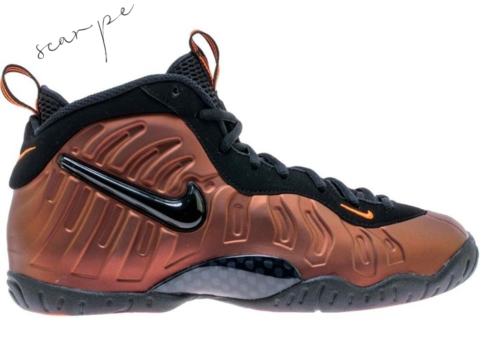 "Vendite Nike Air Foamposite Pro (GS) ""Color Shift"" Oro Nero (644792-800) Scarpe Online"