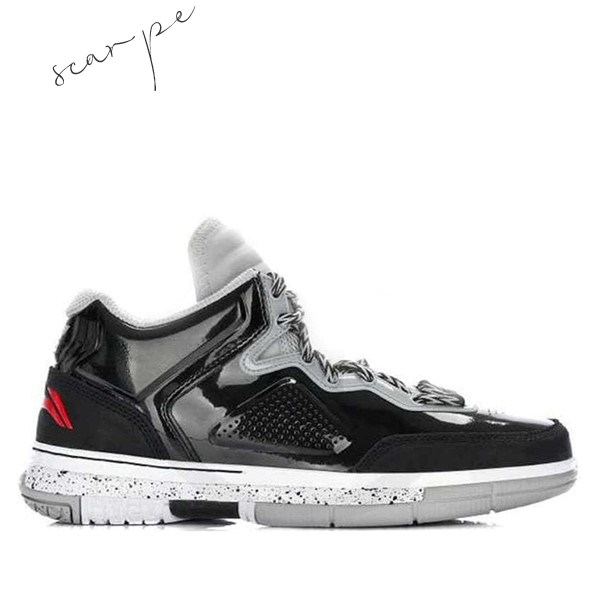 "Vendite Li Ning Way Of Wade 1 ""Warrior"" Nero Gris (ABAH027-1) Scarpe Online"
