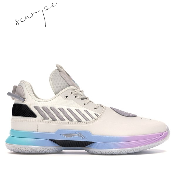 "Vendite Li Ning Way Of Wade 7 ""Cotton Candy"" Bianca (ABAN079-12) Scarpe Online"