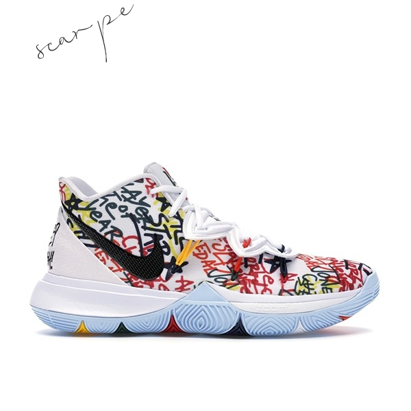"Vendite Nike Kyrie Irving V 5 ""Keep Sue Fresh"" Multicolore (CW2771-100) Scarpe Online"