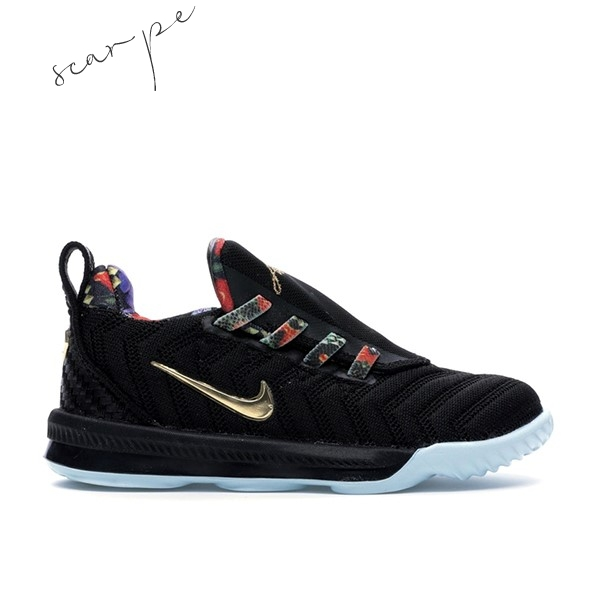 "Vendite Nike Lebron XVI 16 (TD) ""Watch The Throne"" Nero (CJ6708-001) Scarpe Online"