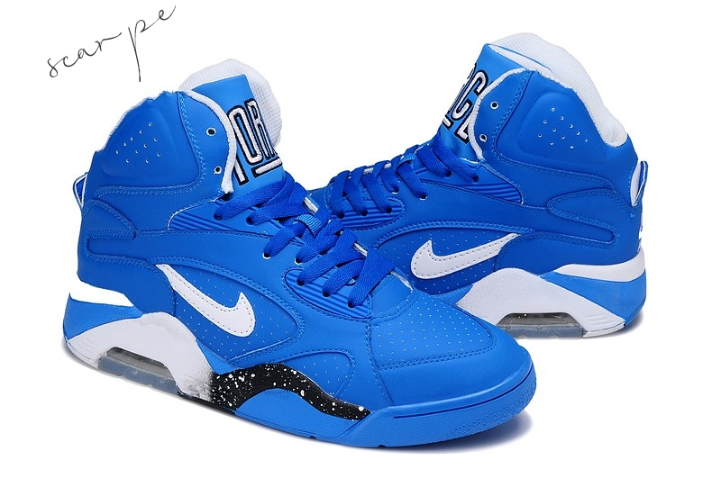 Vendite Nike Air Force 180 Blu Scarpe Online